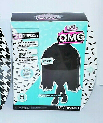 LOL OMG Girl Candylicious 20 Surprises Series 2  New Free Shipping