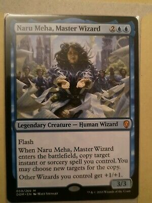 la meisterzauberin nm Magic the Gathering mtg 1x Dominaria Naru Meha