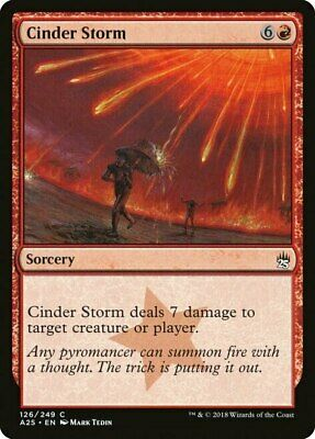 Excellent condition x4 MTG CINDER MARSH Tempest UNCOMMON; played