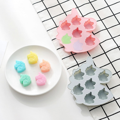 3D Owl Cake Jelly Cookies Soap Mold Chocolate Baking Mould Tray Wax Ice Cube DIY
