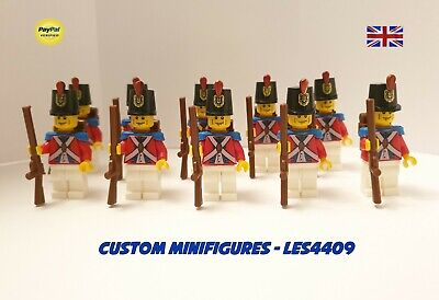 Imperial Toy Soldier British Red Coat Mascot Custom Lego Mini Figure Pinocchio