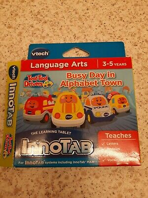 VTech InnoTab Tablet 1 2 3 3s//MAX  Toot Toot Drivers Game Cartridge