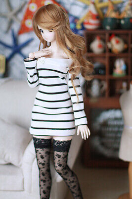 1//6 1//4 1//3 SD16 IP-EID BJD Clothes Doll Outfit Nightgown Nighty Crinkle Chiffon