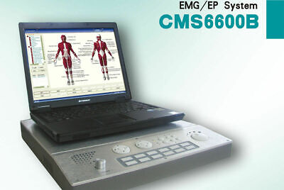 NEW PC based 4-Channel EMG/EP system Machine,Evoked Electromyography CMS6600B CE