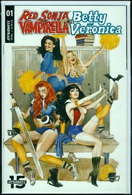 Red Sonja and Vampirella meet Betty and Veronica Dynamite 1G  NM