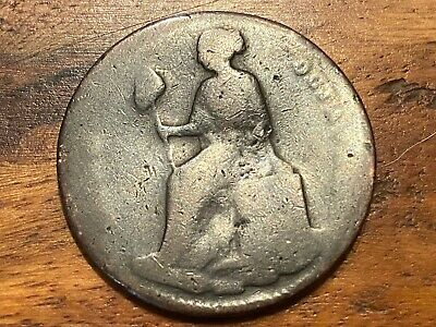 T2: < Good 1865 Jalisco, Mexico 1/8th Real coin