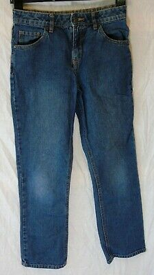 Boys George Classic Blue Denim Straight Leg Relaxed Fit Jeans Age 11-12 Years