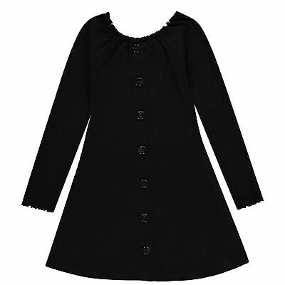 ♥ Fille Robe Manches Longues Navy Melee taille 110-152 ♥ a908-5870-185 ♥ bampidano Jr