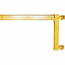 Abell-Howe 4,000lb Capacity Under-Braced Wall Mounted Jib Crane 960031