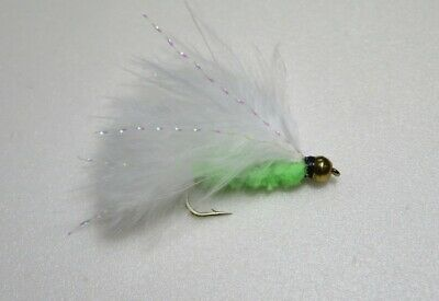 Goldhead Cats Whisker blue flash Trout Lures sizes 10-18 by Salmoflies