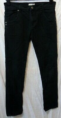 Boys Red Herring Plain Black Classic Denim Straight Leg Jeans Age 14 Years