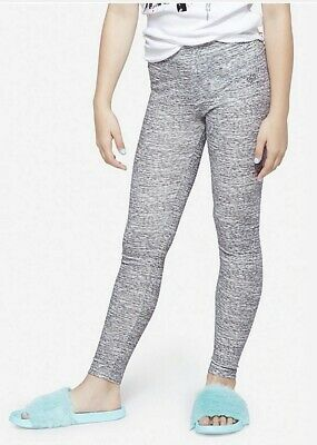 NEW Justice Gray Athletic Crop  Length Leggings NWT 6 7 8 10 12 14 16 20 Girls