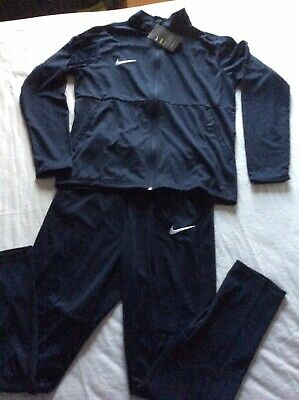 Boys X Large Size 13-15 yrs standard Dri-fit navy Nike Tracksuit Gift New