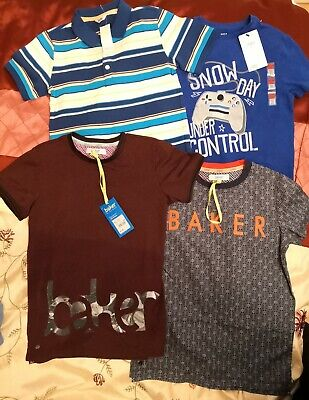 BNWT New Boys Clothing Bundle Age 9-10 Years Marks & Spencer, Ted Baker & M & Co