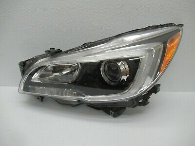 2015 - 2017 Subaru Legacy Outback Front Left Driver Side Headlight Lamp  Oem