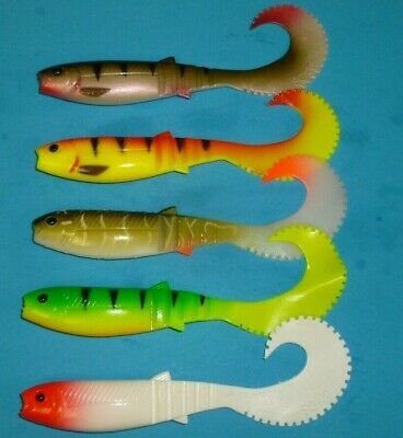 Savage Gear LB Cannibal Shad Curltail lures 10cm or 12.5cm new 2019 crazy prices