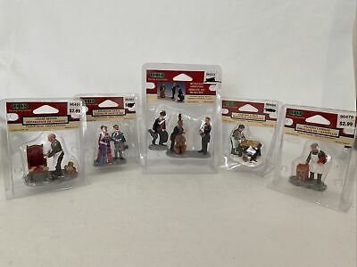 Be Merry figurines Dance set of 5 Lemax Vintage Collection Sing