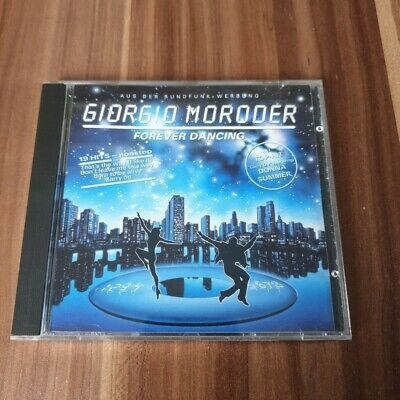 Giorgio Moroder - Forever Dancing (1992) music CD *** very good condition ***