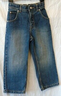 Boys Dunnes Classic Blue Vintage Look Denim Relaxed Fit Jeans Age 4 Years