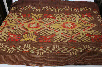 Wool blanket with Latvian national ornaments 20th century