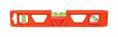 "NEW JOHNSON Structo-Cast Torpedo Level-9""- 1402-0900- With 3 vial-Free Shipping"