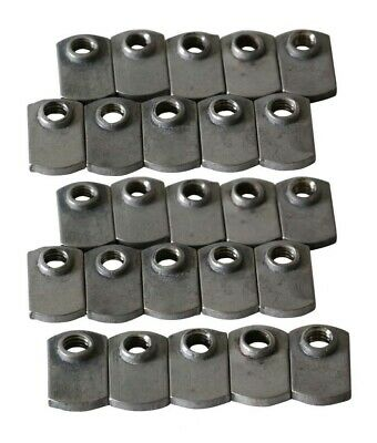 T Slot Stainless Steel Flat T-Nut 25 Pack #4329