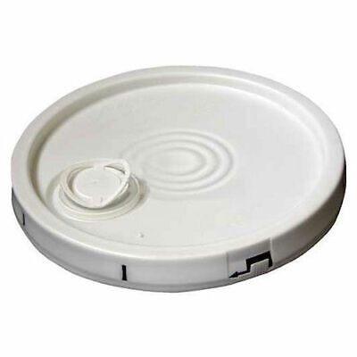 Vestil LID-2-PWST, Tear-Tab Lid with Plastic Spout for 2 Gal White Open Head