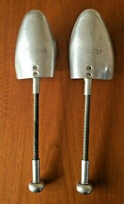 Vintage Retro Antique Metal Shoe Toe Stretchers Vic Tree Made in England 8.5cm