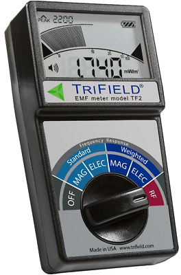 TriField EMF Meter Model TF2 Electric Field Radio Frequency Magnetic Field