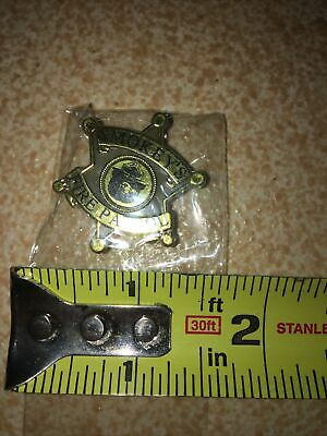 Smokey The Bear Forest Fire Patrol Prevention Badge Pin Button From Early 2000