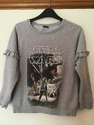 Star Wars at  NEXT GREY GIRLS SWEATSHIRT AGE 12 Years