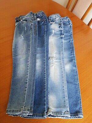 Boys Skinny Jeans Bundle, Age 7 years, VG Con