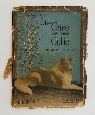 Avery The Care of the Collie 1926, Terhune Foreword, Treve on Cover