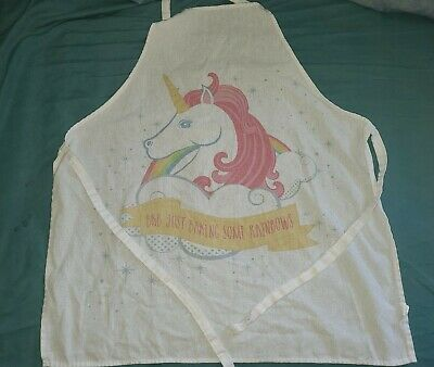 Childs Unicorn Apron