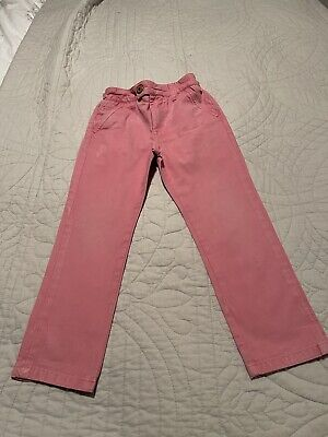 Boys  next casual chino trousers bottoms next pink Age 4