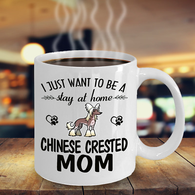 Chinese Crested Mom Mug, Chinese Crested Dog Gift, Chinese Crested Accessories