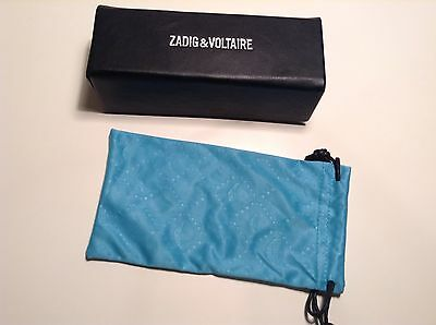 BN 100% auth Zadig Voltaire, Hard & Soft glasses / sunglasses case With Logo.