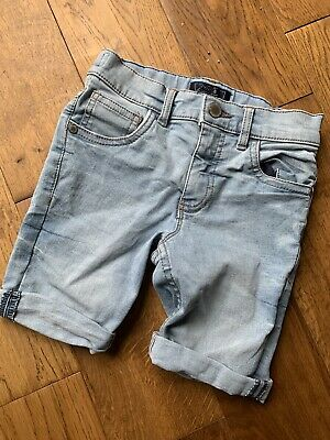 Boys Next Age 6 Denim Long Shorts