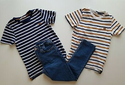 H&M boys two tops and skinny jeans size 6-8 years