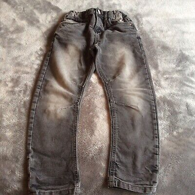 A Pair Of Boys Grey Jean Trousers , Age 9.