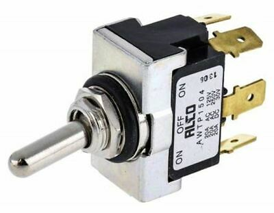 TE Connectivity Double Pole Double Throw (DPDT) Toggle Switch, On-Off-On, IP67,