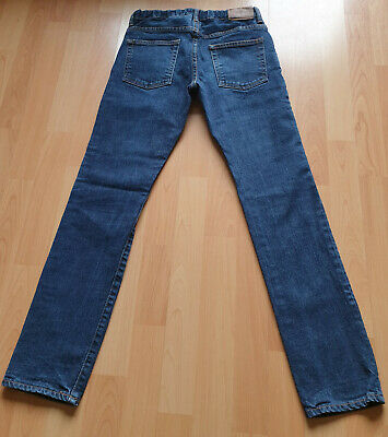 Boys Skinny Jeans Age 13 14 Years GAP Dark Blue Denim Excellent Condition