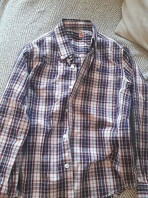 Boys Ben Sherman Shirt Age 6-7 Yrs