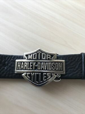 Genuine Harley Davidson Belt Buckle With Belt Size 36-40