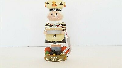 Hershey's Chocolate Happy Thanksgiving 2001 Collectible Figure