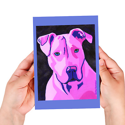 Pit Bull sketchbook, 60 blank/unlined pages, sewn binding, softcover