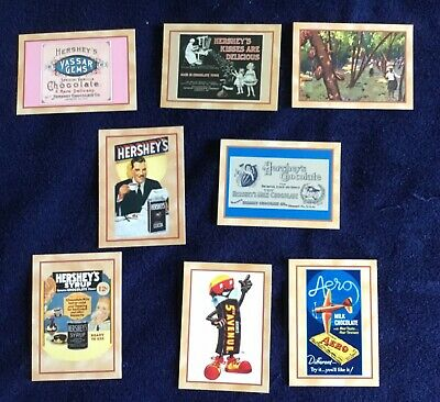 Hershey's Trading Cards Collector's Numbers 16 31 52 60 62 66 71 83 1995 Opened