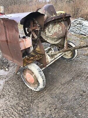 CONCRETE  MIXER 8 hp, USED - LOCAL PICKUP ONLY