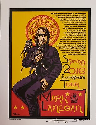 Mark Lanegan Band Poster 50 00 Picclick