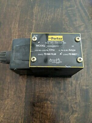 Parker D3W20BNYC32 Directional Control Valve 5000PSI  NEW OPEN BOX A1